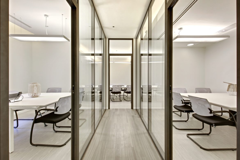 Brique De Verre Dans Placo cloisons acoustiques, modulaires, vitrées - bureaux, open