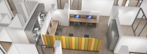Aménagement espaces professionnels X Plan 3D