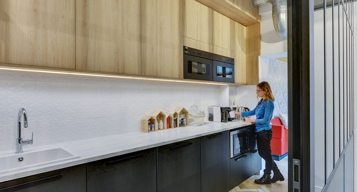 Aménagement d'un espace détente en entreprise (PARIS)