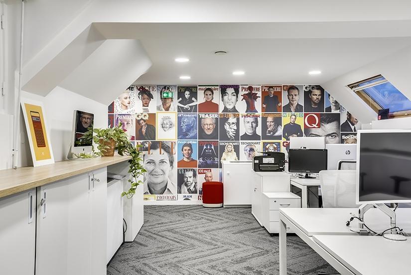 Aménagement espace professionnel + décoration