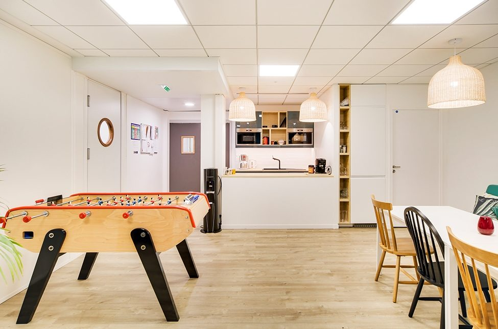 Aménagement espace cuisine en entreprise