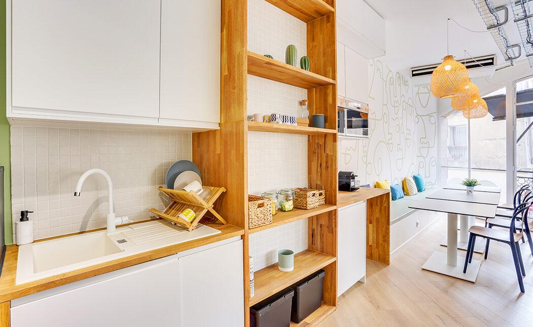 Aménagement espace cuisine / détente en entreprise