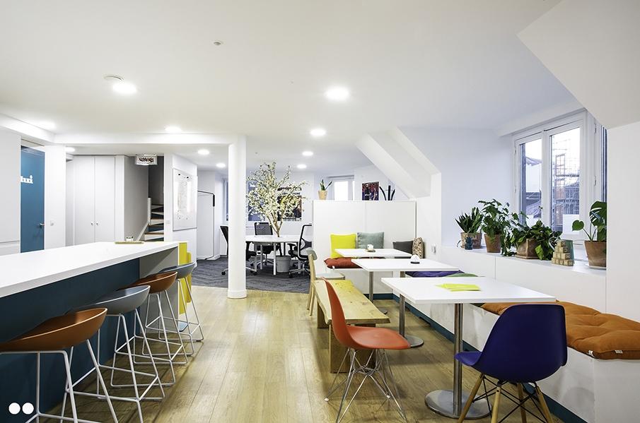 Espace cuisine / lounge en entreprise