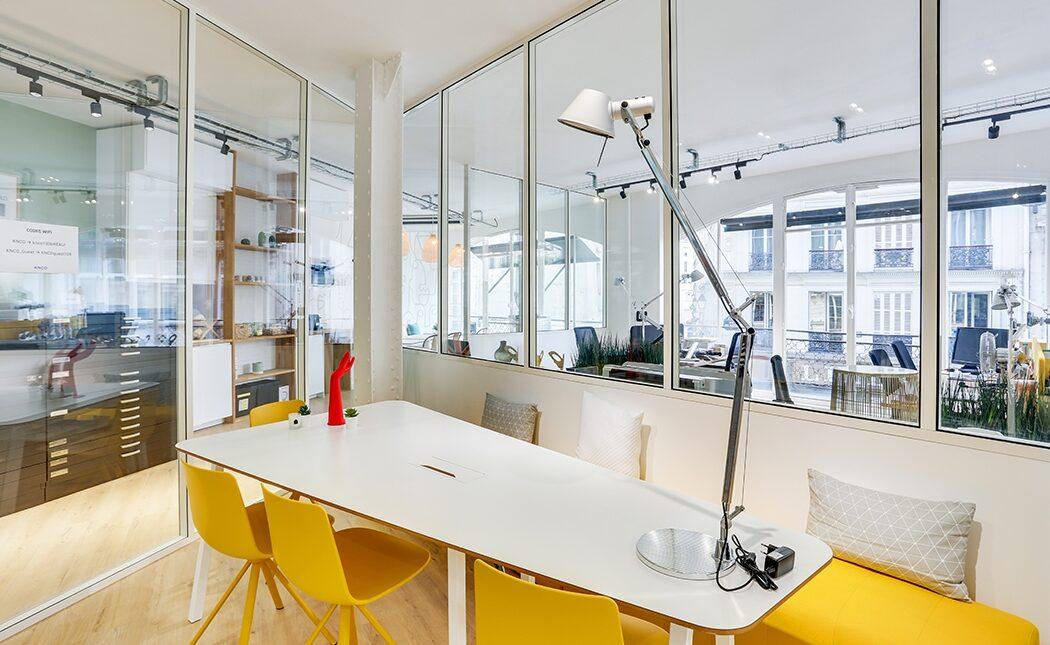Aménagement salle de réunion moderne - Paris