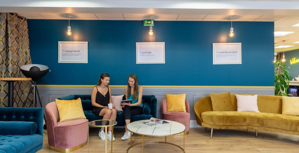 Aménagement espace détente + mobilier Design - LOSAM 2