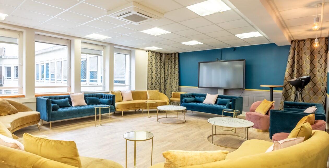 Aménagement espace brainstorming + mobilier Design - LOSAM 2
