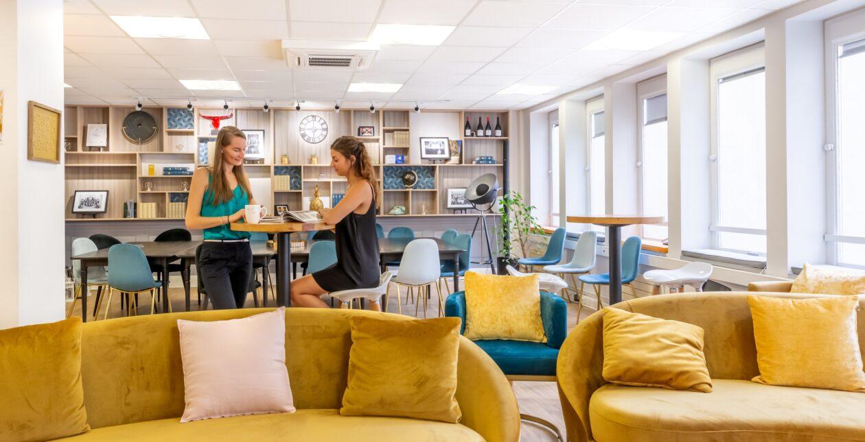 Aménagement espace café / Open space - LOSAM 2