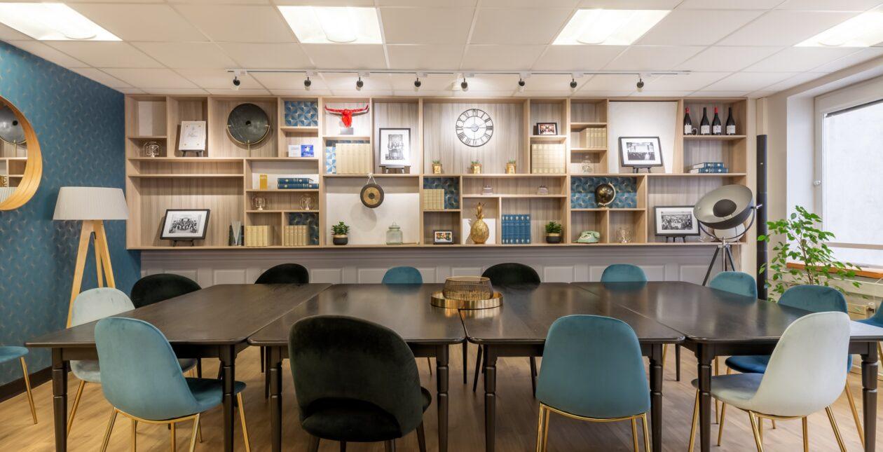 Aménagement salle de réunion + mobilier Design - LOSAM 2