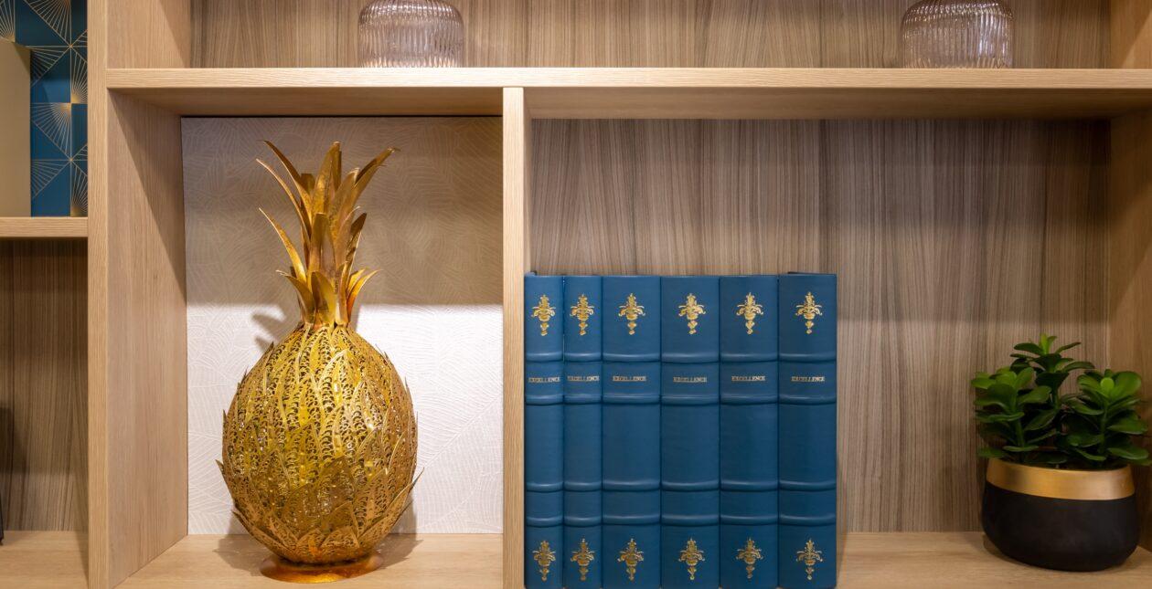 Aménagement bibliothèque + mobilier Design - LOSAM 2