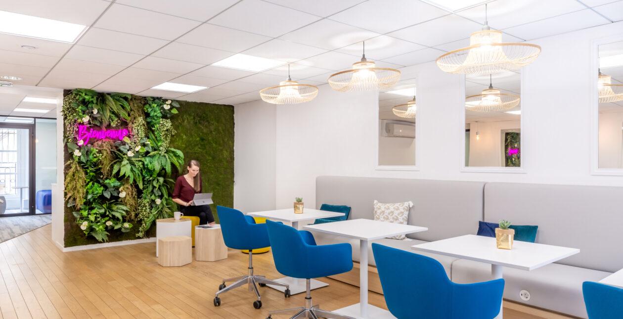 Rénovation bureaux entreprise – E-CUBE