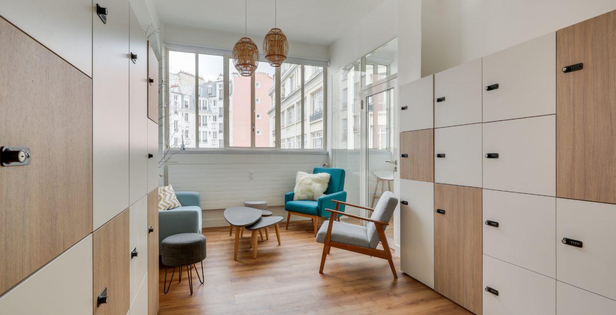 Aménagement espace accueil - Proximis - Paris