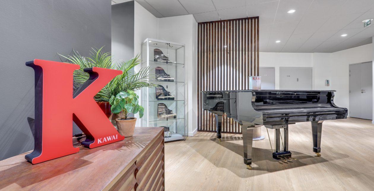 Aménagement showroom - Piano - Paris