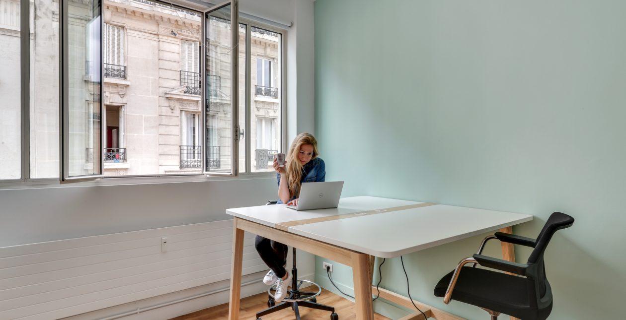 Aménagement Flex Office - Table haute - Proximis - Paris